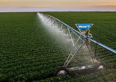 Valley Irrigation pivot purchased from Green Valley Irrigation, Inc. in Atkinson and O'Neill, Nebraska